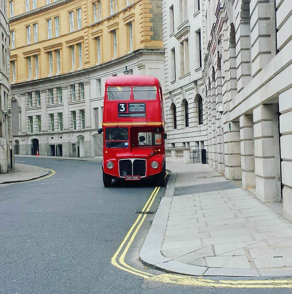 Harry Potter tour of London in a vintage Routemaster