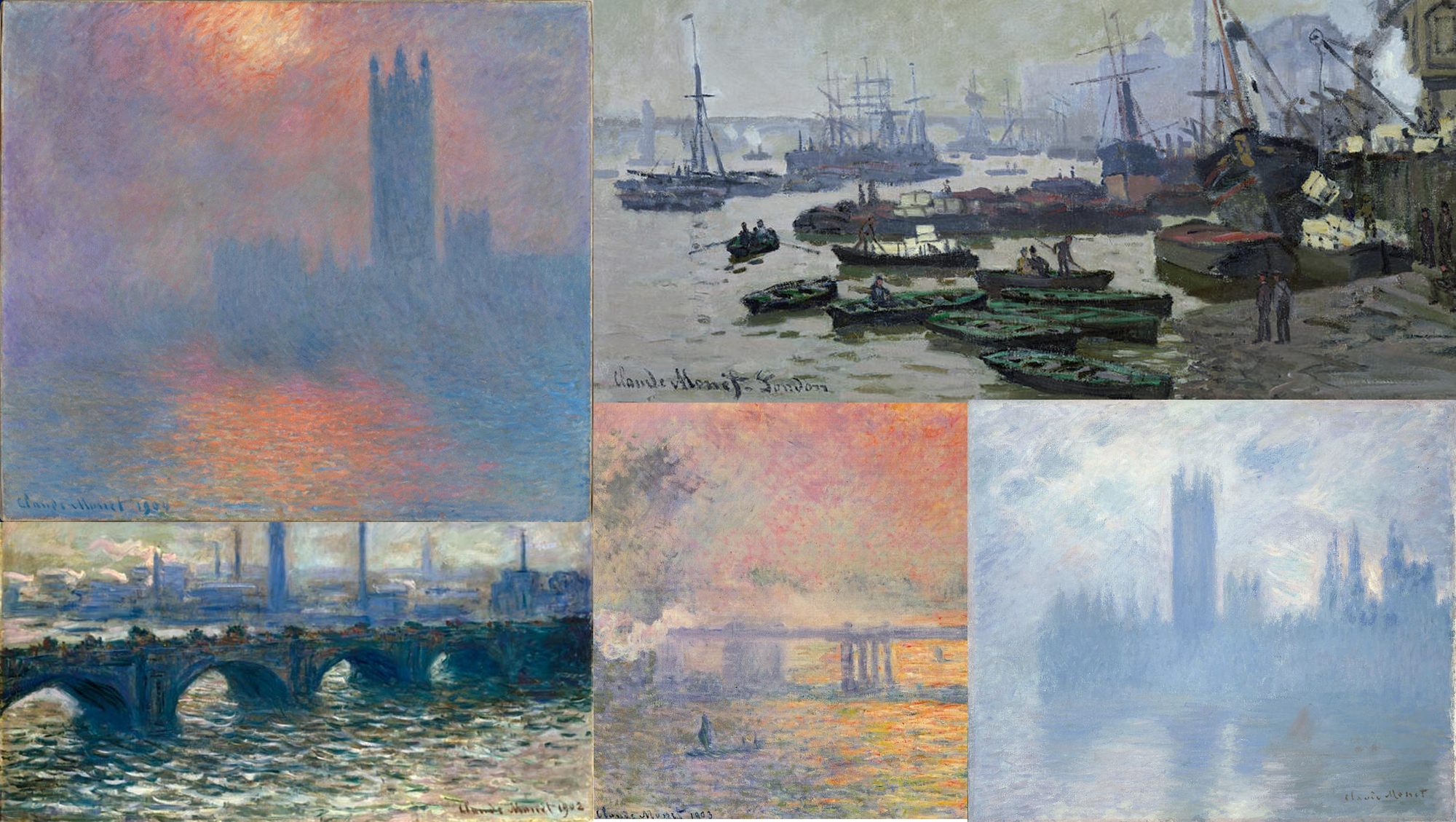 Monet, an impressionist in London
